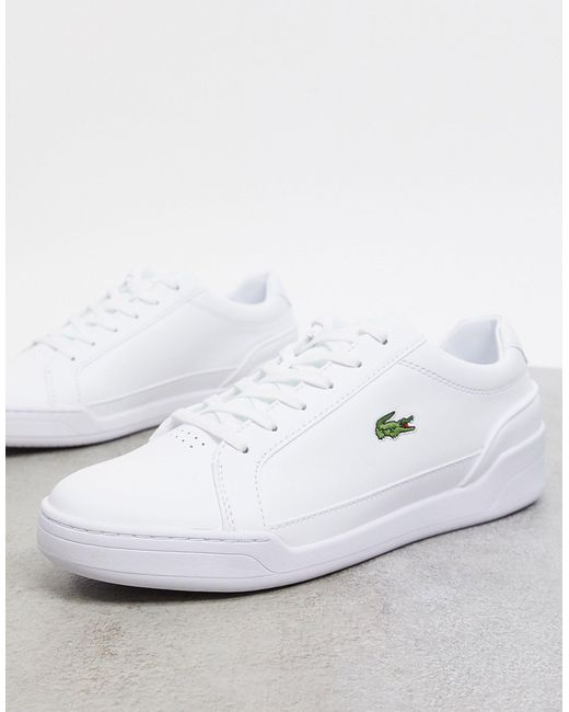 Lacoste White Challenge Trainers for men
