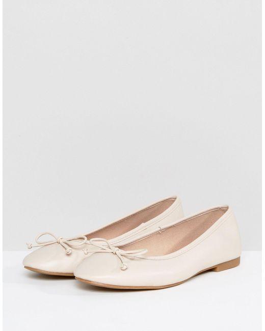 ASOS Asos Libra Wide Fit Ballet Flats
