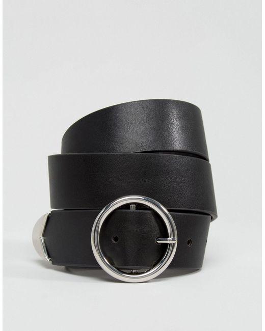 Ремень Для Джинсов ASOS, цвет: Black