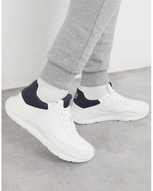 River Island Chunky Trainers in White
