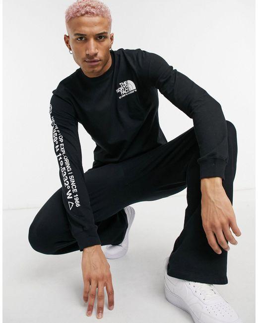 Черный Лонгслив С Логотипом -черный Цвет The North Face для него, цвет: Black