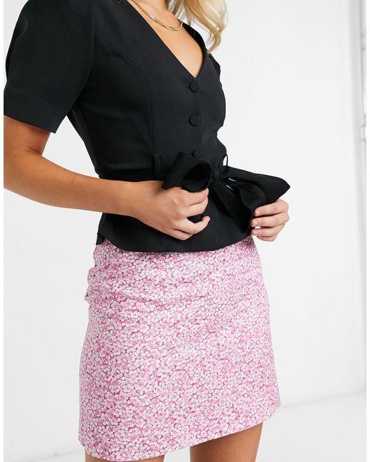 Розовая Мини-юбка С Цветочным Принтом -розовый Цвет & Other Stories, цвет: Pink