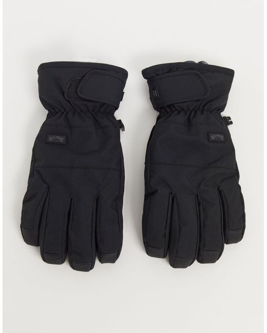 Черные Перчатки Kera-черный Цвет Billabong для него, цвет: Black