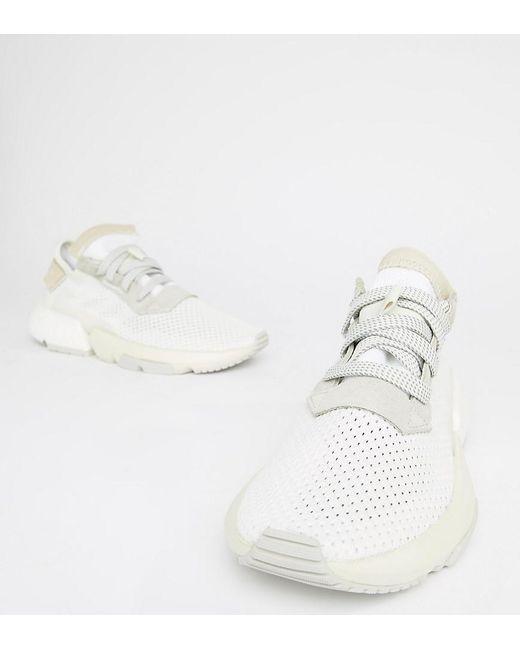 huge discount 59efc f4905 Adidas Originals - Pod-s3.1 Sneakers In Triple White - Lyst ...