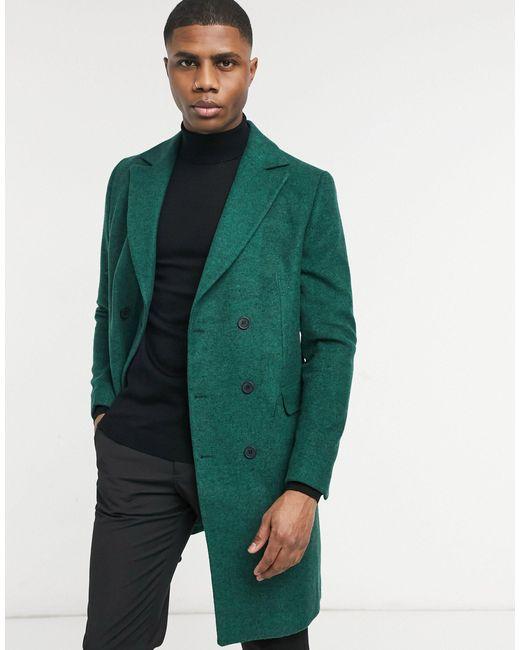 Шерстяное Пальто Mikey-зеленый Цвет Bolongaro Trevor для него, цвет: Green