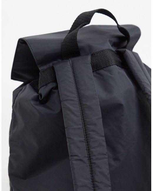 Черный Рюкзак С Карманом На Молнии ASOS для него, цвет: Black