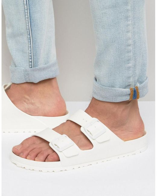 Birkenstock | Arizona Sandals - White | Lyst