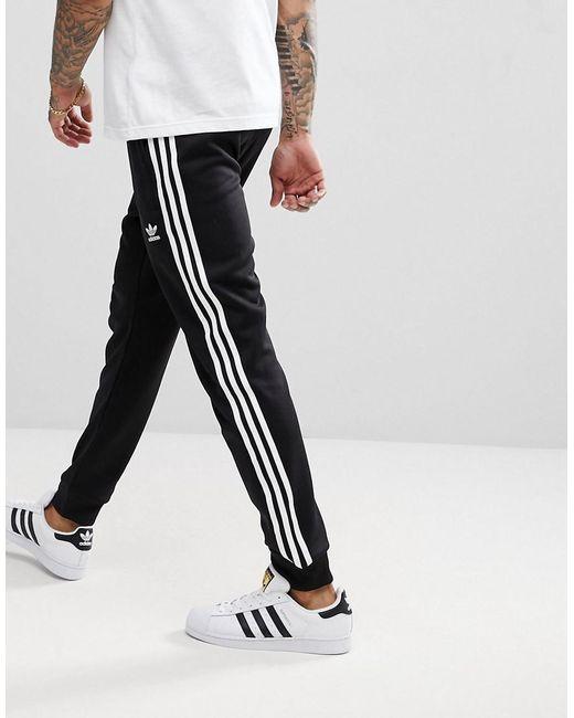 Lyst Adidas Originals Adicolor Superstar Joggers In