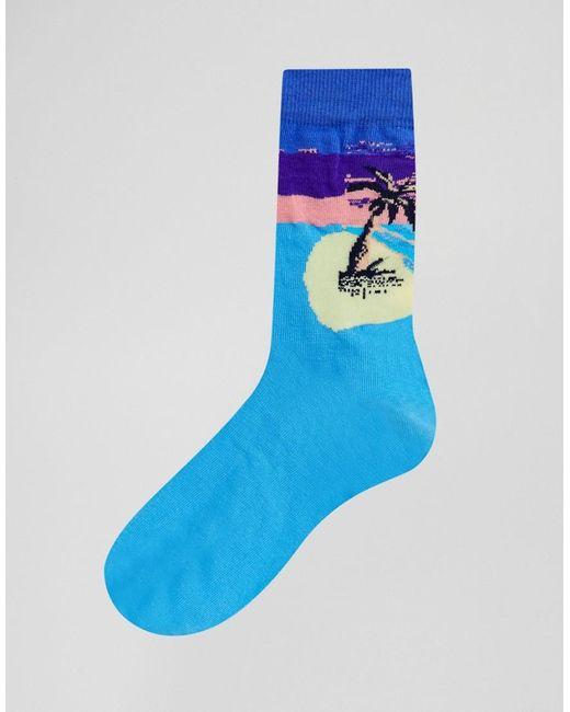 Globe Multi Stripe 5Pk Ankle Socks