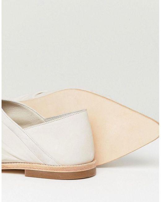 AllSaints Knot Detail Loafer