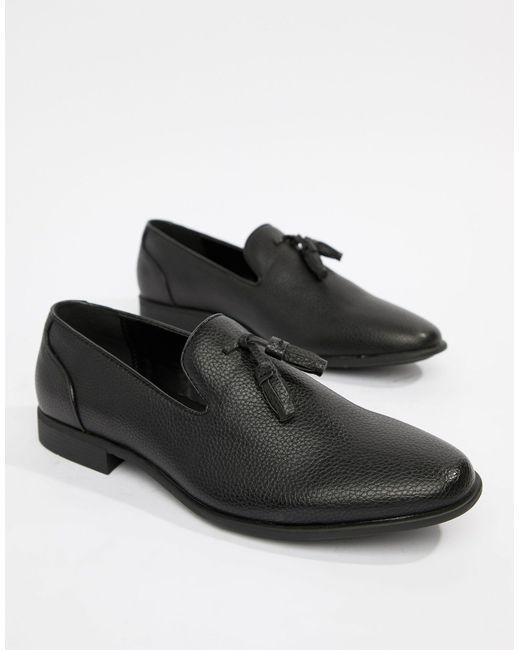 ASOS – e Tasselloafer in Black für Herren