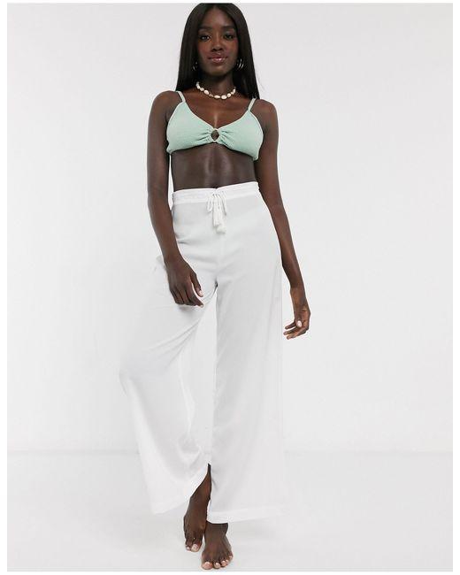 Pantalon Glamorous en coloris White