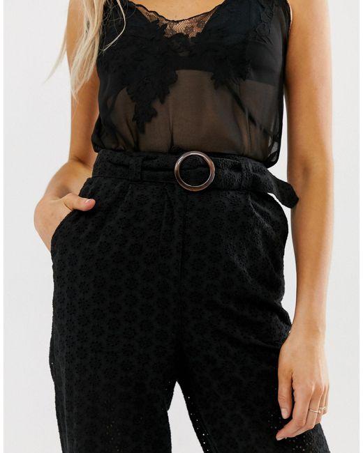 Pantalones ASOS de color Black