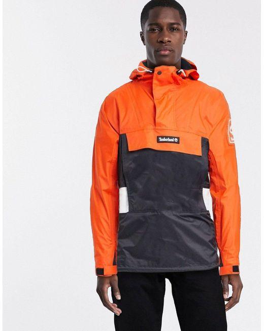 timberland orange homme
