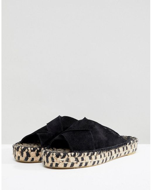 new cheap online buy cheap good selling Free People Tuscan Slip On Sandal in Suede cheapest price outlet 100% authentic v6hUPXV