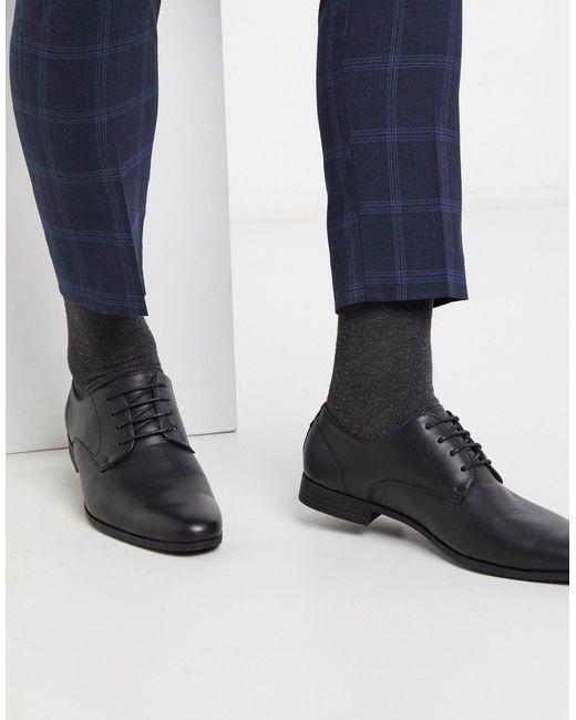 Zapatos Derby Burton de hombre de color Black