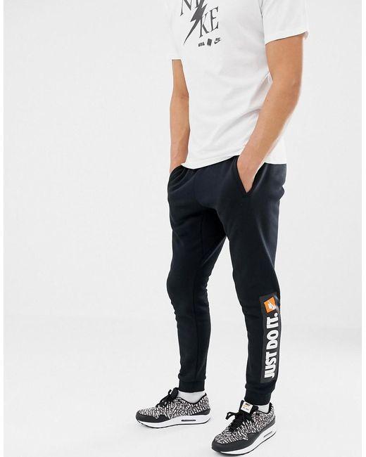 dc58705004565 Nike Jdi Skinny Joggers In Black 928725-010 in Black for Men - Lyst