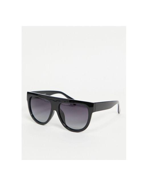 Черные Массивные Солнцезащитные Очки Norena-черный Pilgrim, цвет: Black