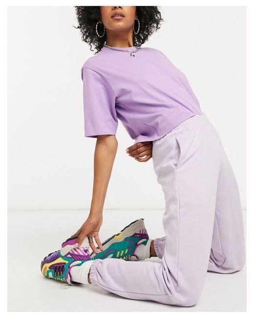 New Look Purple Cuffed jogger