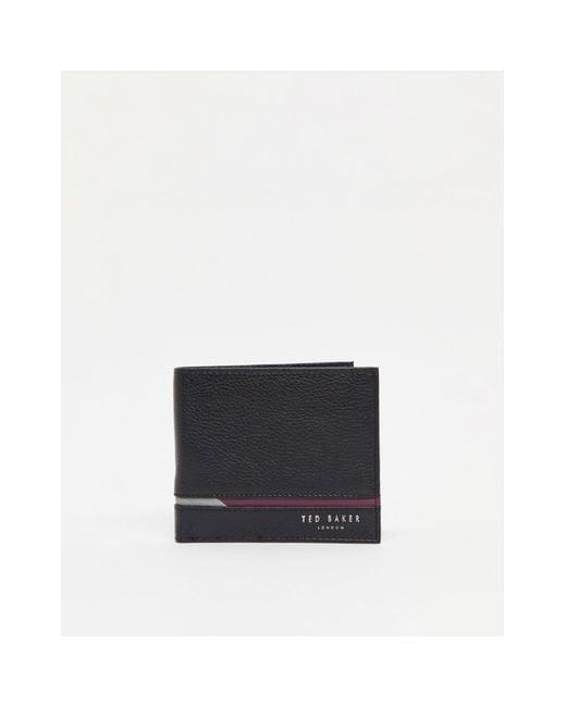 Ted Baker Black Sailbot Wallet for men