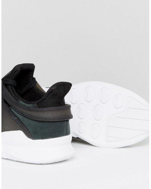 EQT Support ADV Trainers In Black CP9557 - Black adidas Originals lKZdCHi02