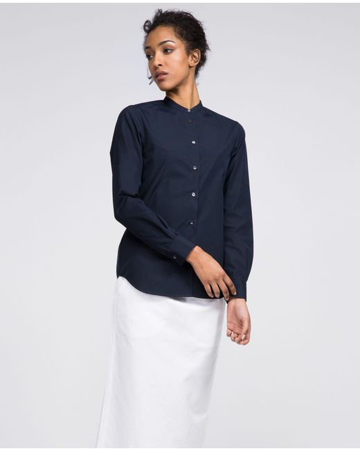 Aspesi - Blue Pure Cotton Shirt - Lyst