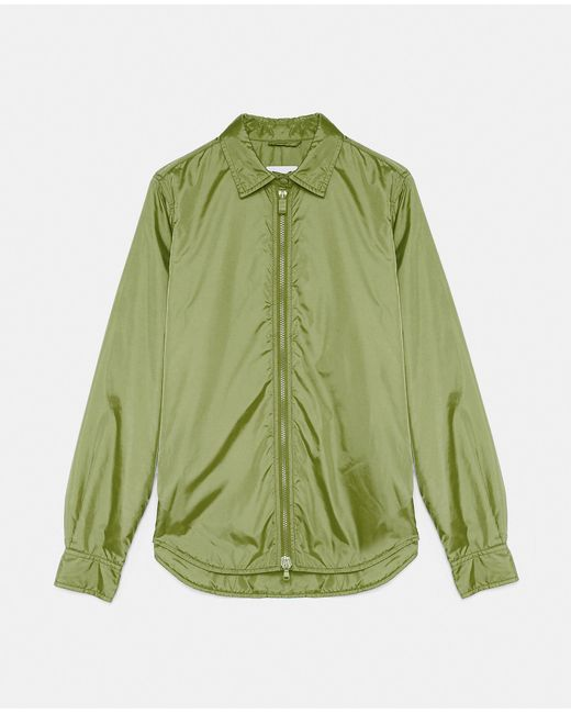 Camisas y Tops - Chaqueta/Camisa Tomino VERDE 100% nylon XS Aspesi de color Green
