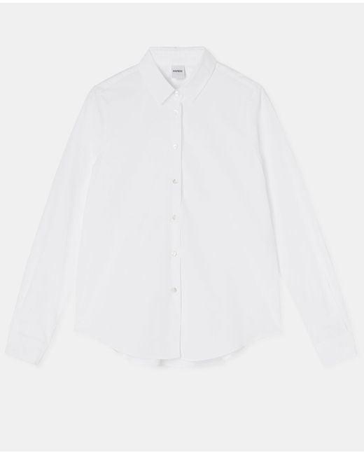 Aspesi Shirts & Tops - Cotton Poplin Shirt White 100% Cotton 36