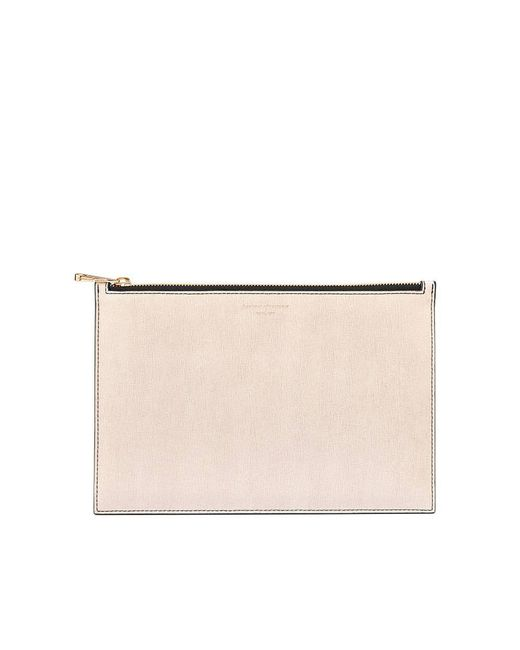 Aspinal - Multicolor Large Essential Flat Pouch - Lyst