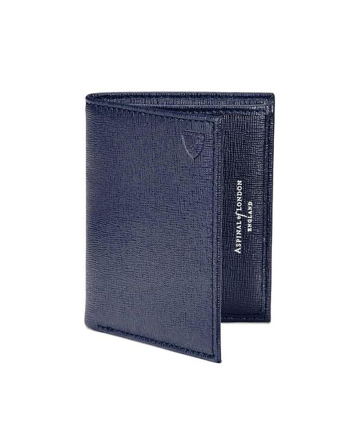 Aspinal - Blue Double Credit Card Case Pocket - Lyst