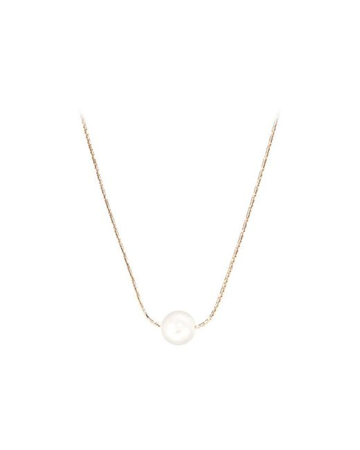 Aspinal | White 8mm Single Sea Shell Pearl Necklace | Lyst