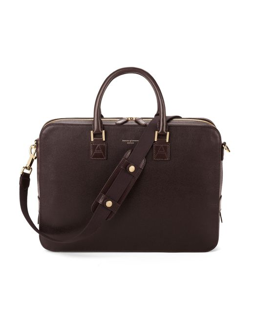 Aspinal - Brown The Small Mount Street Tech for Men - Lyst
