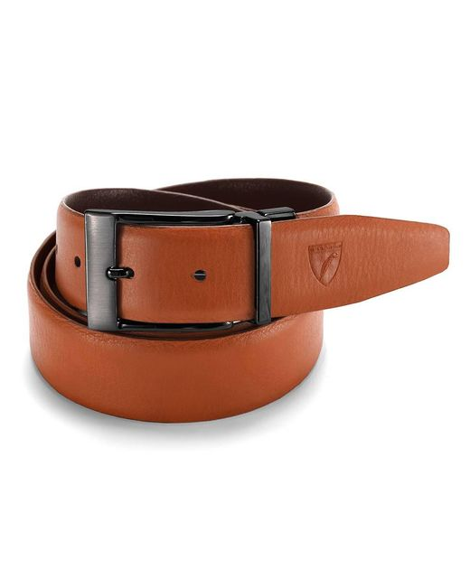 Aspinal - Brown Mens Reversible Belt for Men - Lyst