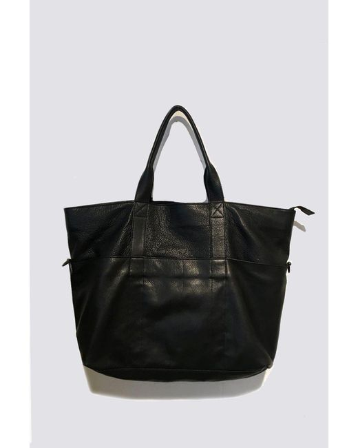 678901b41611 Women's Black Assembly Leather Travel Tote