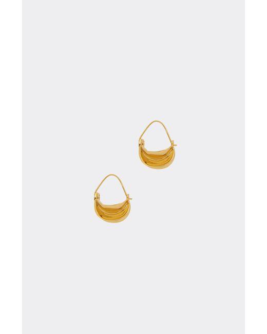 Anissa Kermiche - Metallic Mini Paniers Dorés Earrings - Gold - Lyst