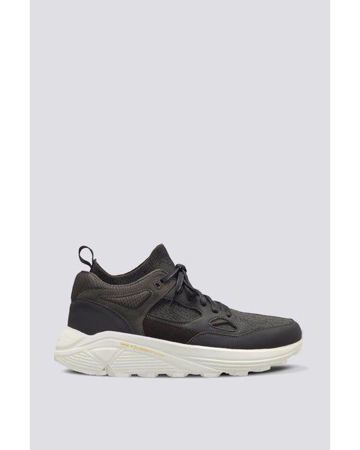 Brandblack Leather Aura Sneaker Black For Men Lyst