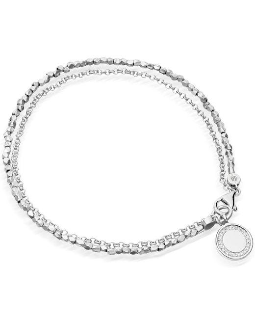Astley Clarke Blue Cosmos Biography Bracelet