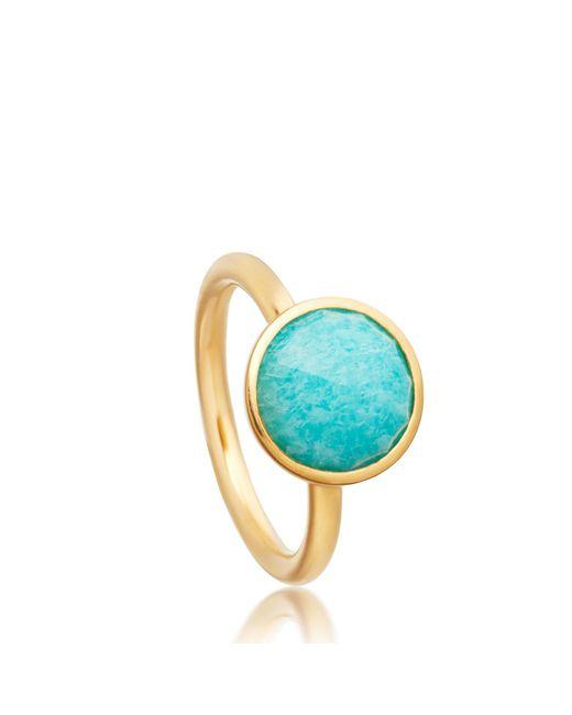 Astley Clarke - Blue Round Stilla Ring - Lyst