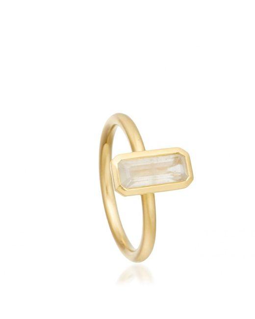Astley Clarke   Metallic London Blue Topaz Prismic Ring   Lyst