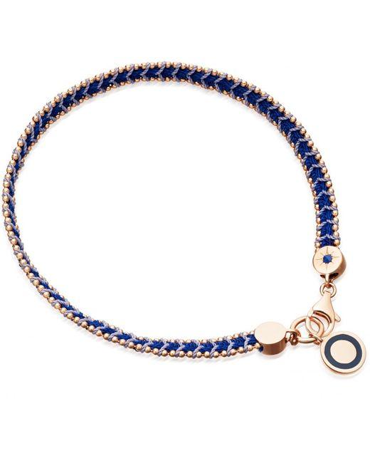 Astley Clarke | Blue Lapis Woven Biography Bracelet | Lyst