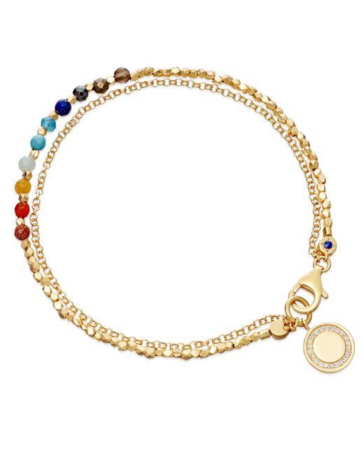 Astley Clarke | Metallic Cajun Shrimp Cosmos Stones Bracelet | Lyst