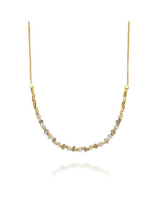 Astley Clarke   Metallic Labradorite Detail Biography Necklace   Lyst