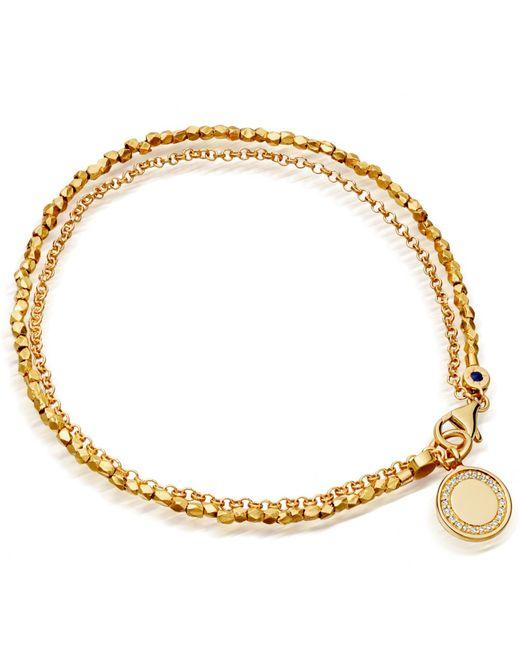 Astley Clarke | Metallic Cosmos Nugget Bracelet | Lyst