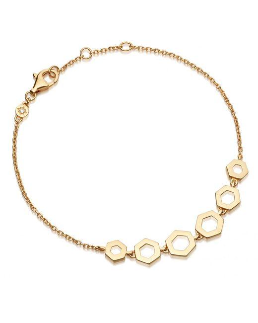Astley Clarke | Multicolor Plain Honeycomb Bracelet | Lyst