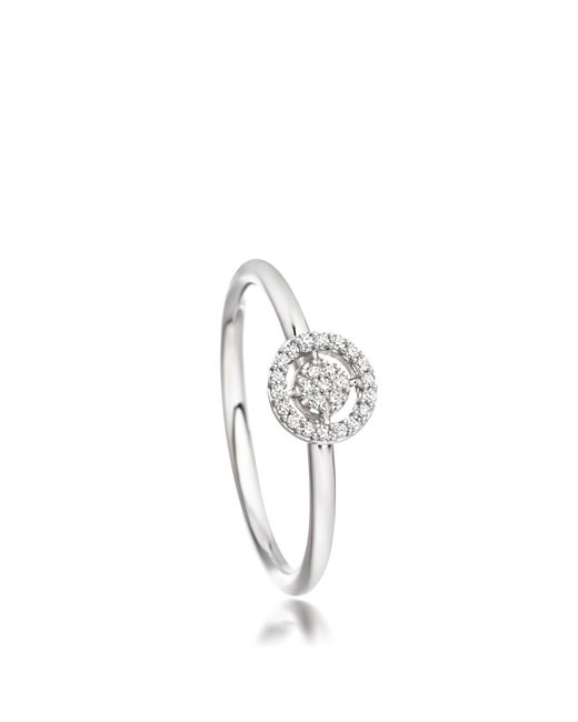 Astley Clarke | White Mini Icon Aura Ring | Lyst