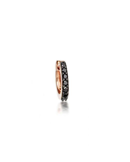 Astley Clarke - Mini Halo Black Diamond Single Hoop Earring - Lyst