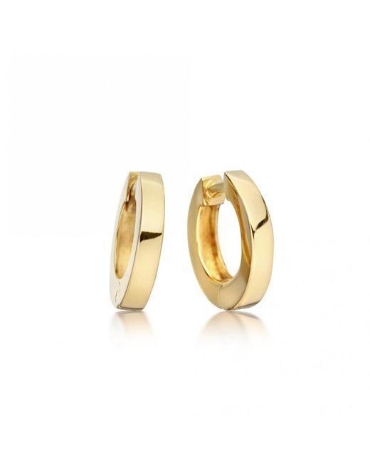 Astley Clarke - Metallic Mini Stilla Gold Hoop Earrings - Lyst