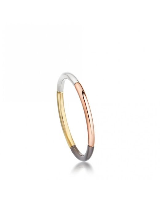 Astley Clarke - Metallic Little Heart Gold Diamond Ring - Lyst
