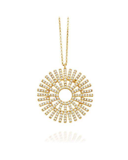 Astley Clarke - Metallic Large Rising Sun Pendant - Lyst