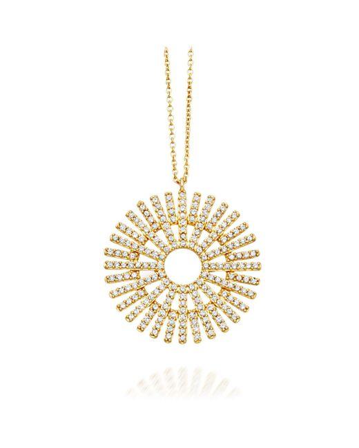 Astley Clarke Metallic Large Rising Sun Pendant